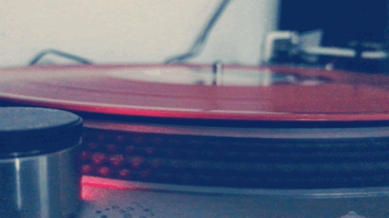 Vinyl Records Trainspotting Orange