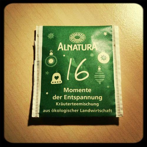 Sehr lecker,also den würd ich mir auch mal als Packung kaufen... ^^ Tea ALNATURA