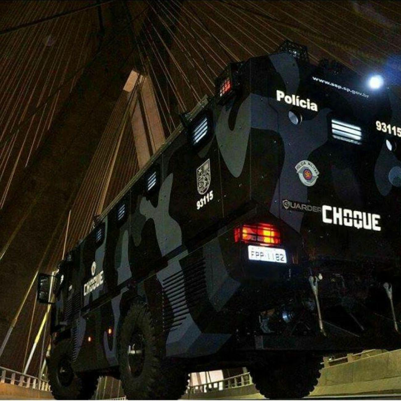 Blindado PMESP Policia Militar Do Estado De Sao Paulo Sao Paulo - Brazil Military Police Segurança Publica