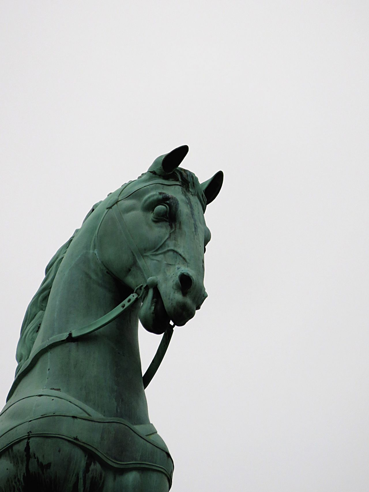Horse Statue Historical Building Branderburgertor Berlin Traveling Sightseeing