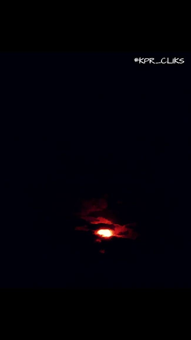 Check This Out Young Moon Just Rising.....