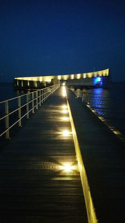 Kastrup sea baths. Copenhagen, Denmark Sea Baths Kastrup Søbad Sea Swimming Beach Night Beach Sea Pool