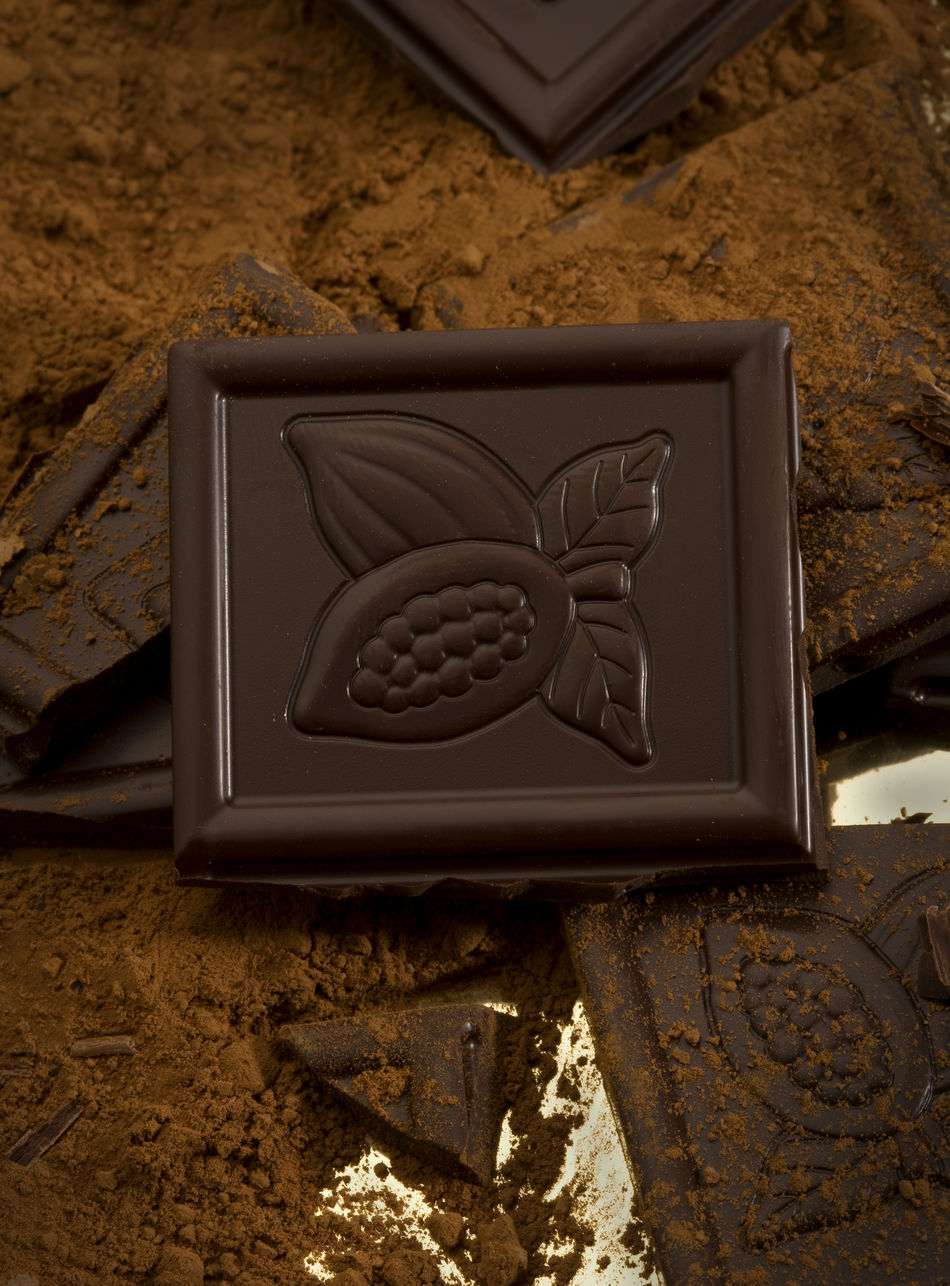 Brown Chocolate Chocolate Pieces Close-up Cocoa Sweet Food Sweets Yummy