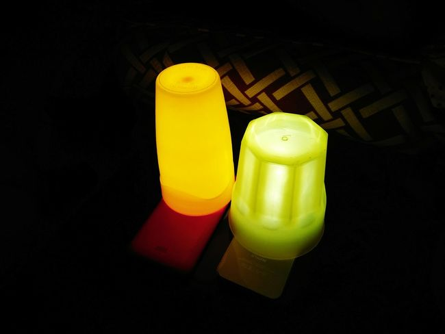 Seventh. Yellow Indoors  Black Background Close-up Light Light And Shadow Green Color Green Lights Green Lighting