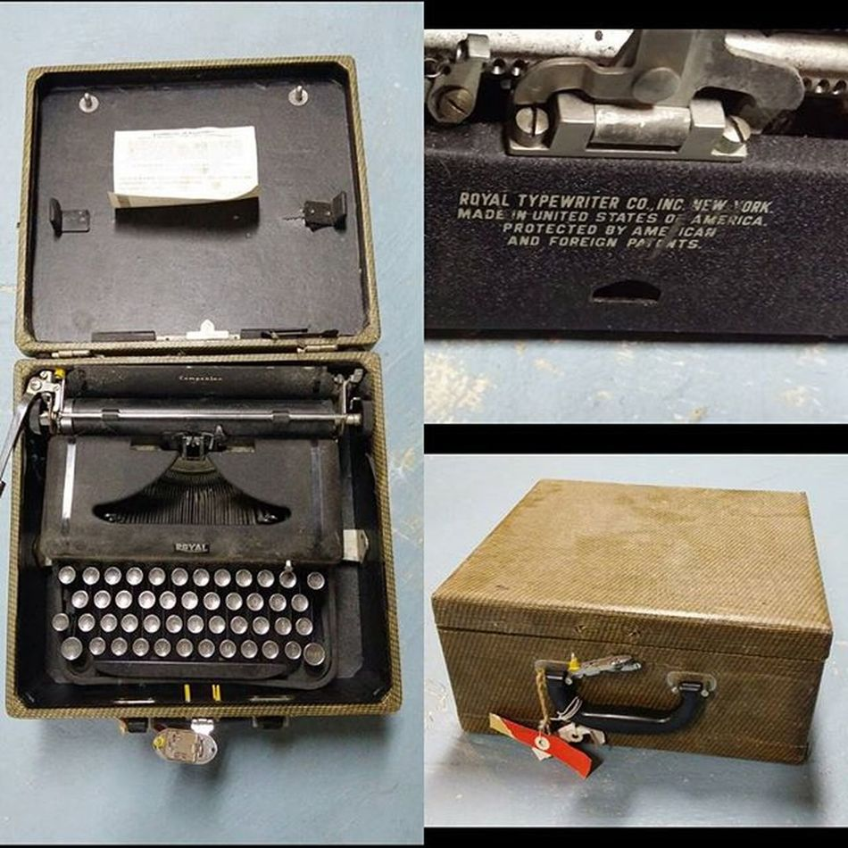 Anyone know anything about Vintage Royal Portable TypeWriters ? This is one of my wife's buys from her Flea Market outings. Debating on selling it or using it to type fortune cookie fortunes. Royaltypewriter