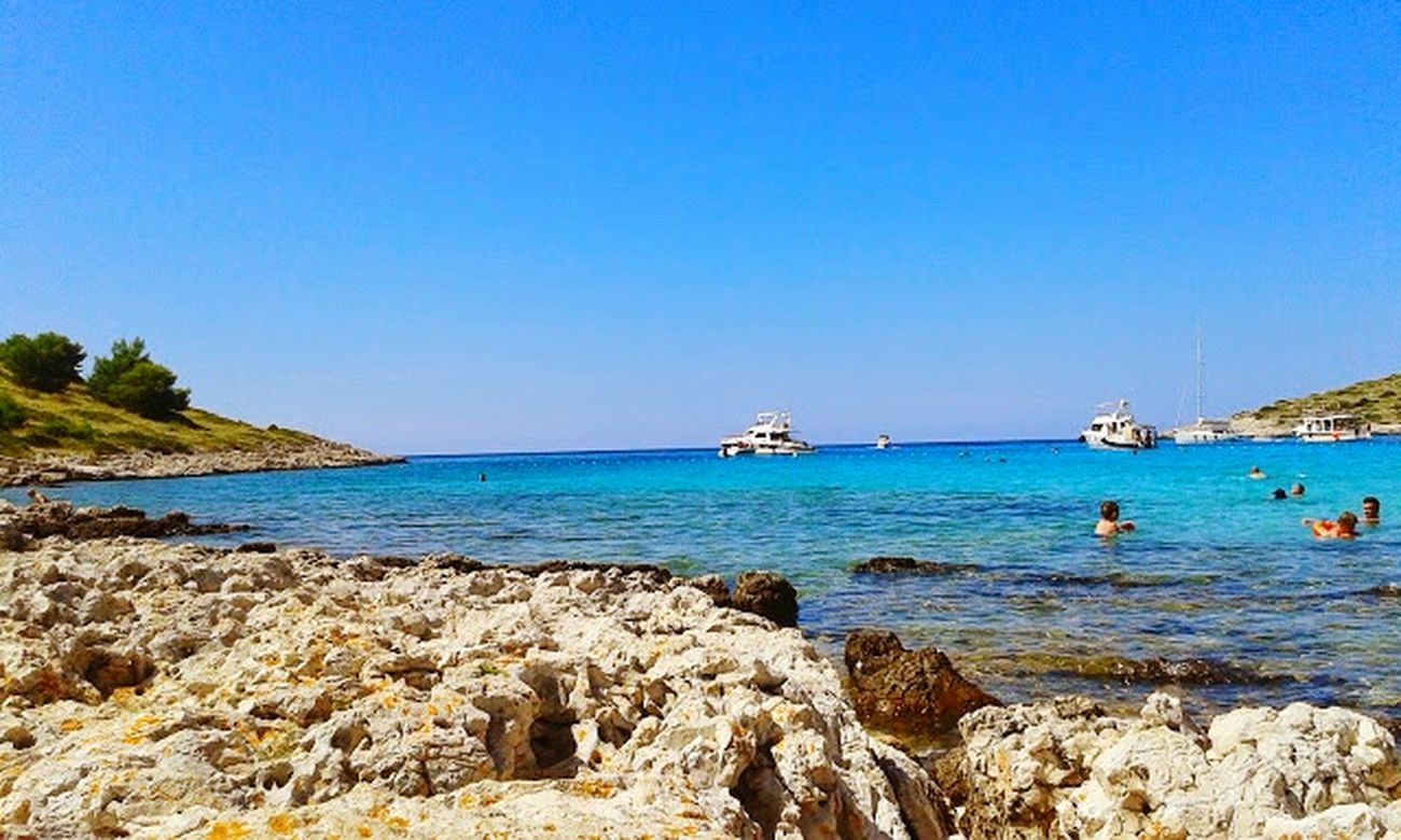 Archipel Kornati Croatia 2014 Kornati Island Adriatic Sea Virgin Islands Beach Blue Croatian