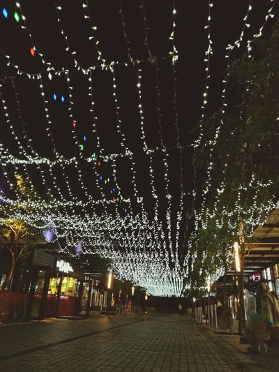 Traveling Home For The Holidays Christmas Decorations Light Effect Lights In The City Lamps And Lights. People Outdoors Night EyeEmNewHere Fresh On The EyeEm