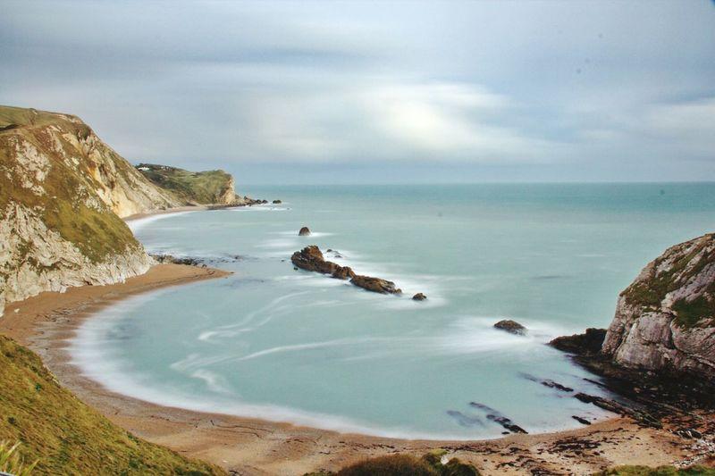 Man Of War Bay Dorset England🇬🇧