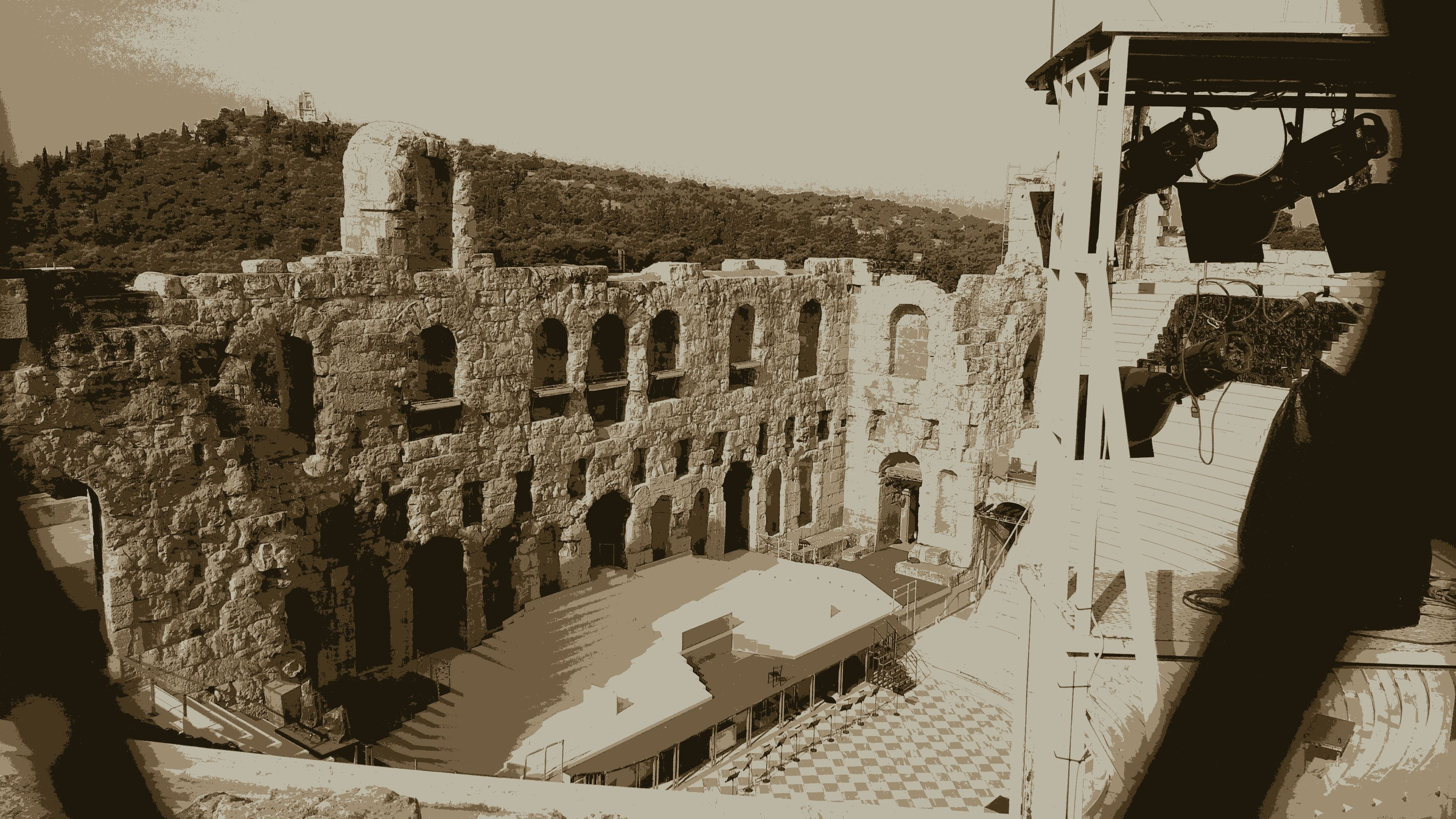 history, real people, architecture, built structure, ancient, old ruin, tourism, travel, men, outdoors, building exterior, leisure activity, lifestyles, ancient civilization, travel destinations, day, women, one person, sky, nature, people