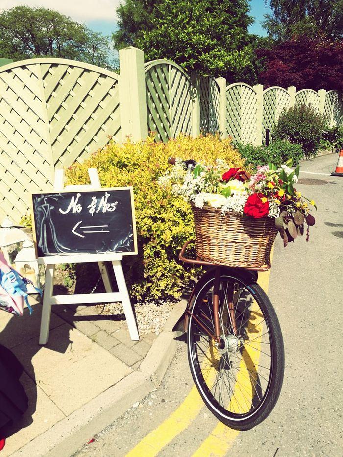 Wedding Day Outdoors Kilkenny Ireland Bike Day Transportation Bicycle No People Sunlight