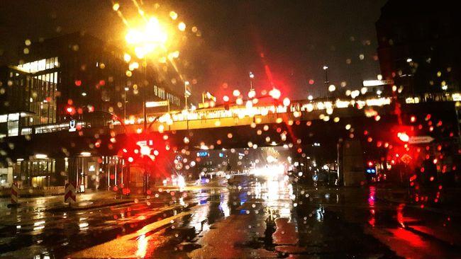Wind Shield Windshield Rain Rainy Days Rainy Night Hamburg City Lights Coty City Scene Film Noir Hamburg Harbour