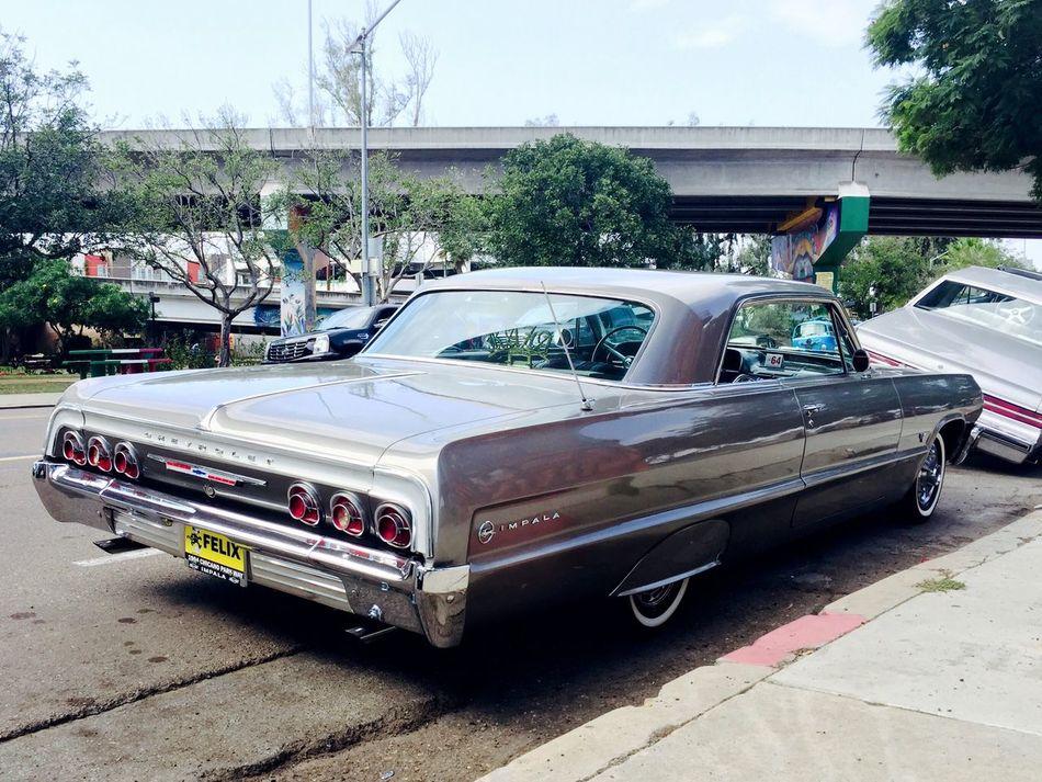 Lowrider San Diego Lowriders Chicano Raza Logan Park Impala 64 Impala Old School