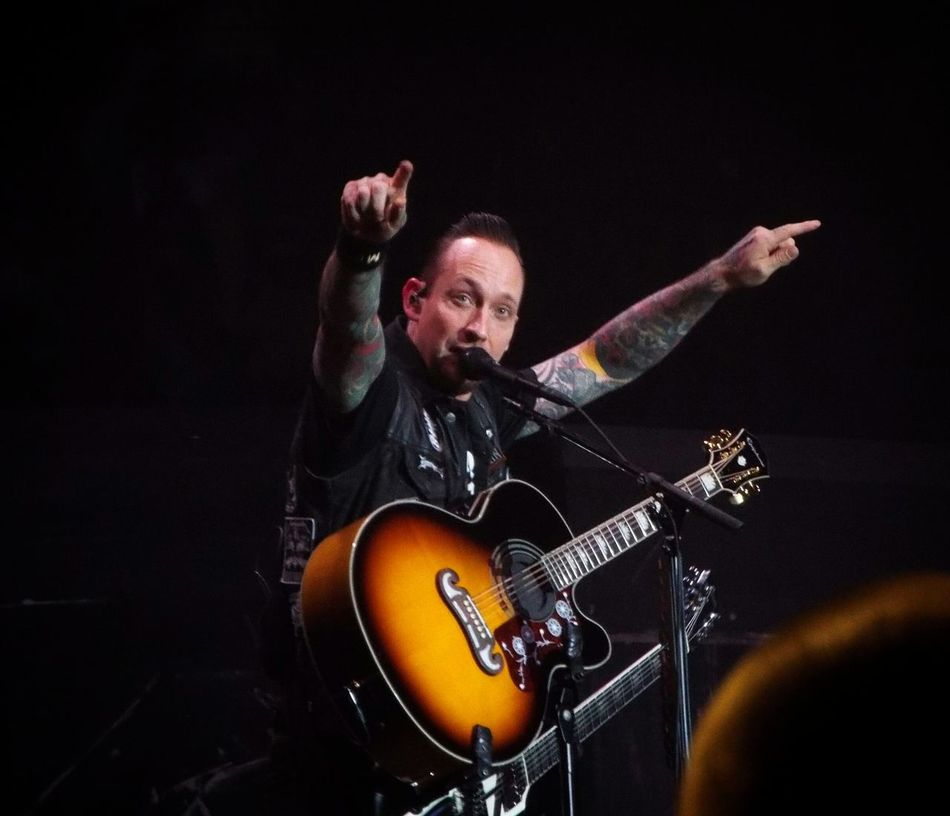 Music Musical Instrument Musician Guitar String Instrument Guitarist Rock Music Playing Volbeat Volbeat In Action Live Music Live Music Music Is My Life Tattoo Singer  Vocalist Birmingham On Stage Gigs Gig Photography Guitars Michael Poulsen Check This Out