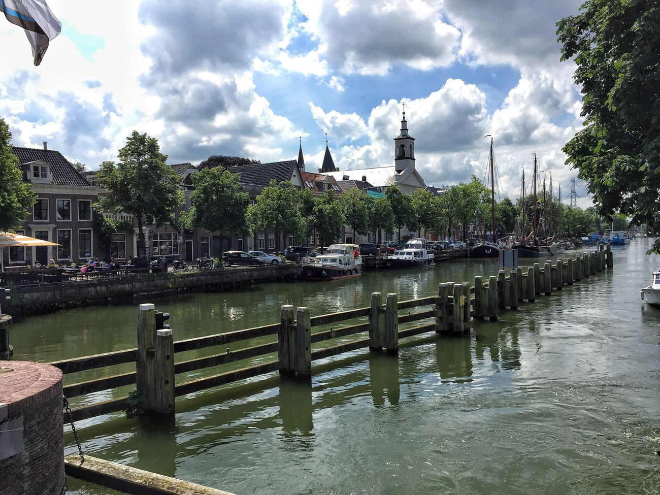 Muiden Netherlands Peace And Quiet Love Is In The Air Canals And Waterways Canal Walks Castel Feeling Good Clouds And Sky Muiden Castel