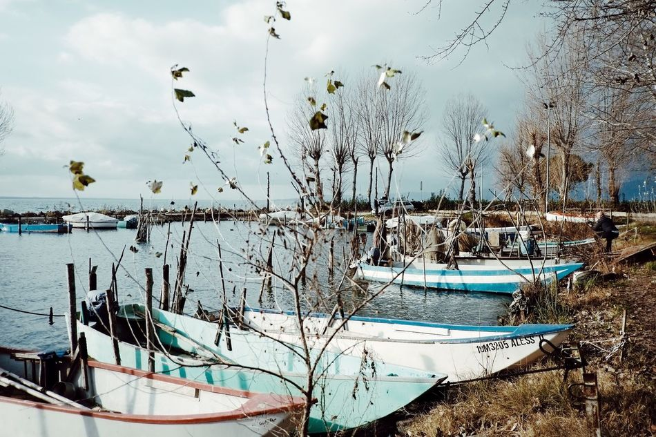 WATER DREAMING [series], by Claudia Ioan Water Sky Nautical Vessel Nature No People Day Outdoors Beauty In Nature VSCO Landscape Umbria Lake Lake Trasimeno Fujifilm X-Pro1 Fujinon