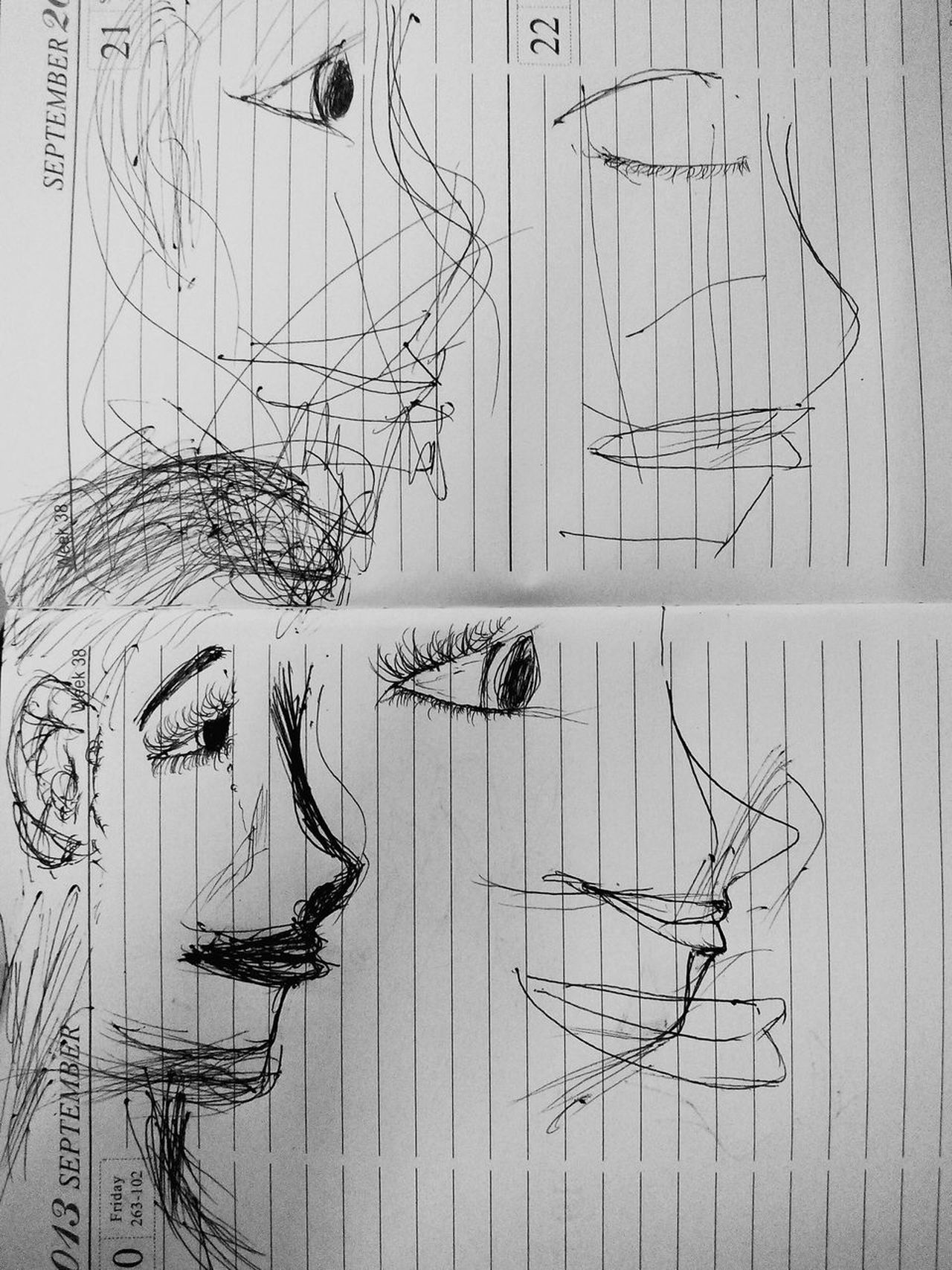 Its more difficult to choose what facial expression to wear when you're burnt out than to choose what clothes to wear. Sketches Eyem Philippines Sketchbook Doodles Pen Sketching