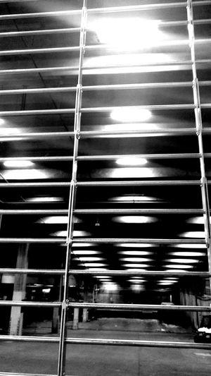 City Space Bars Closedup Emptyspace Lightsonadarkspace Metaphora Nooneinsight