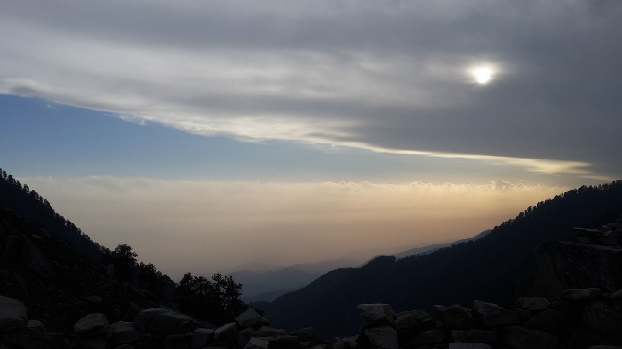 Sunset Gradient Hilly Landscape Cold Weather Quiet Evening Soothing Winds SnowLineCafe Himalayan Range Trekking himalayan quest camp Dhauladhars Mcleodganjdiaries Himachalpradesh India First Eyeem Photo Feel The Journey