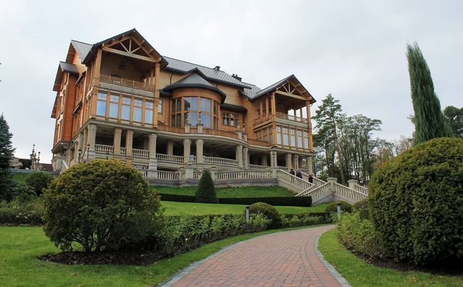 Museum of corruption Yanukovych House President Ukraine Photo Architecture Canon