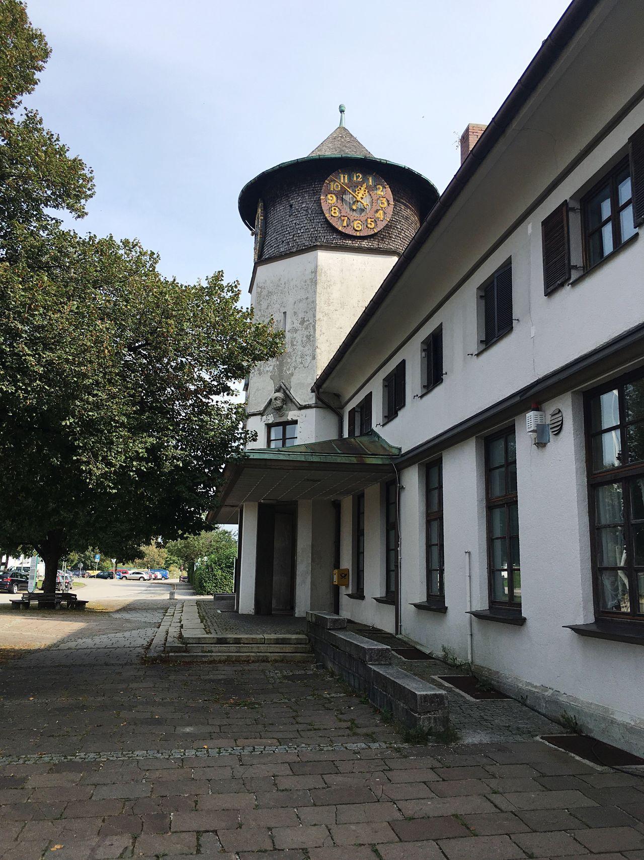 Bad Tölz Bahnhof Clock