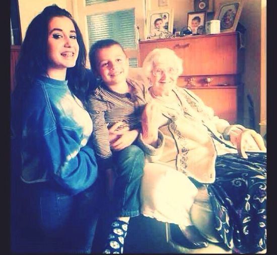 happy 93rd birthday yesterday great nan! i love you x Family Beautiful