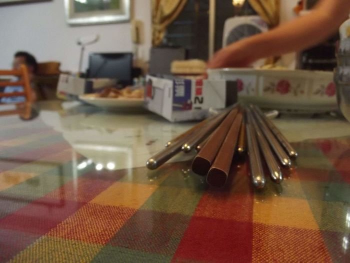 Chopsticks Ready To Eat ^_^ Exciting Uncle Home Abundance Chinese Food