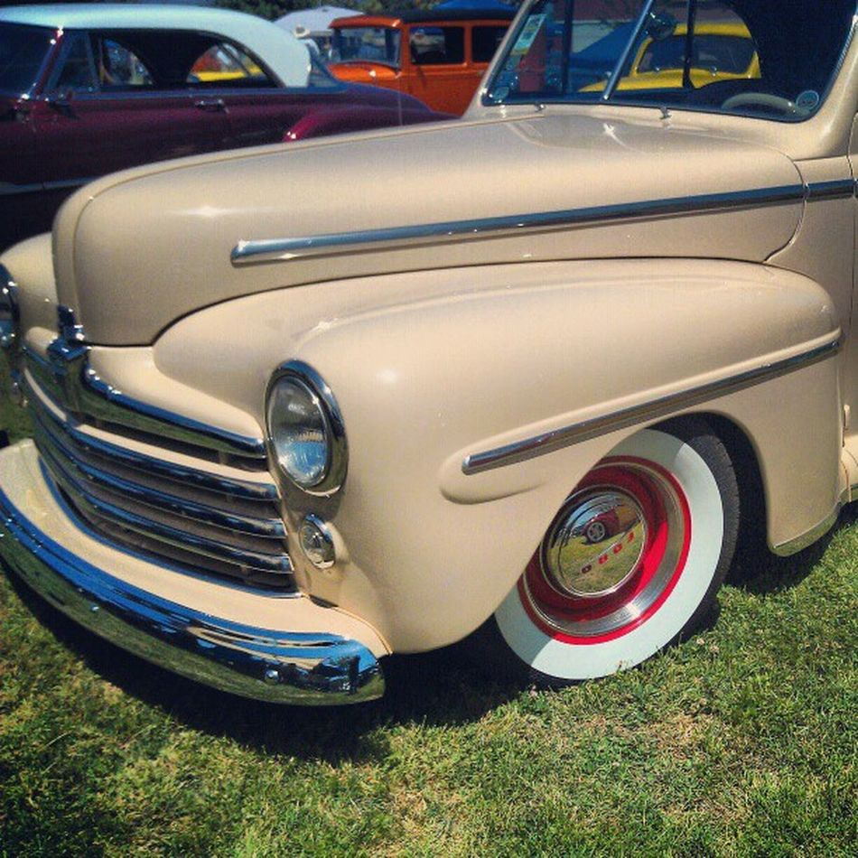 Hubbeee's 47 at the NSRA Westernnationals CarShow Retro vintage classic cars Ford