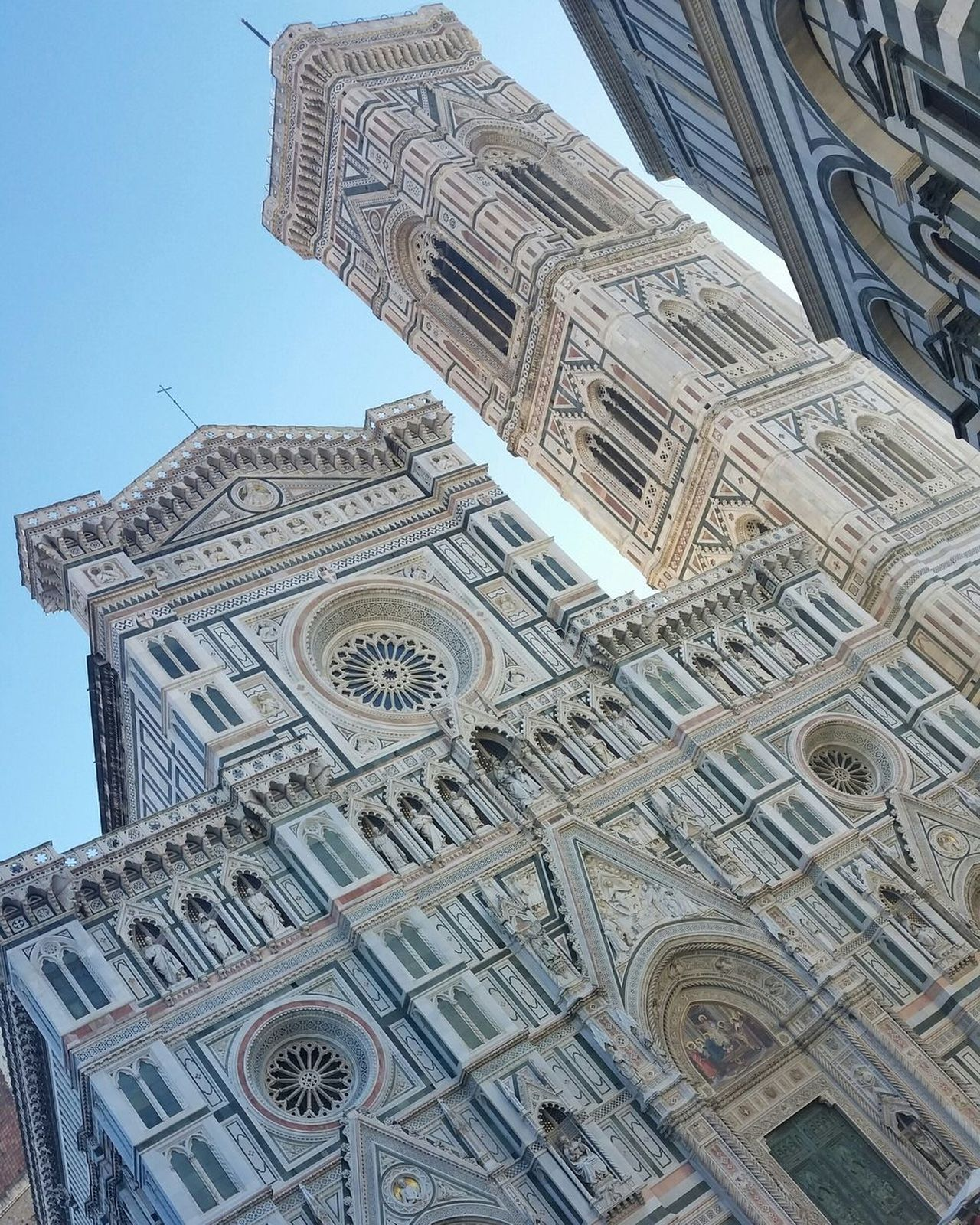 Architecture Low Angle View Building Exterior Built Structure Sky Skyscraper Outdoors No People Day City Close-up Florence, Italy Chatedral