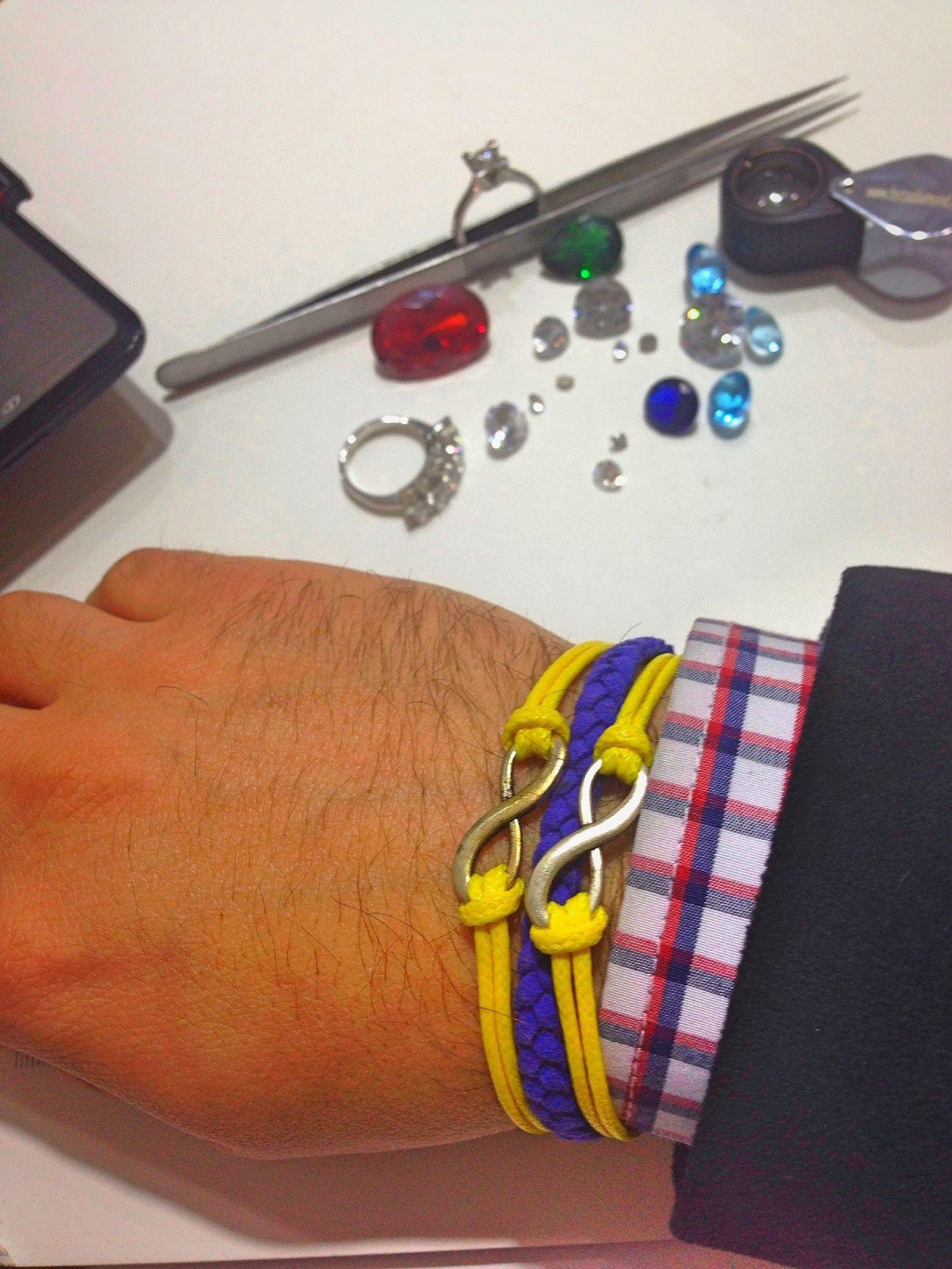 Diamond Fenerbahce  Bracelets Sonsuzluk