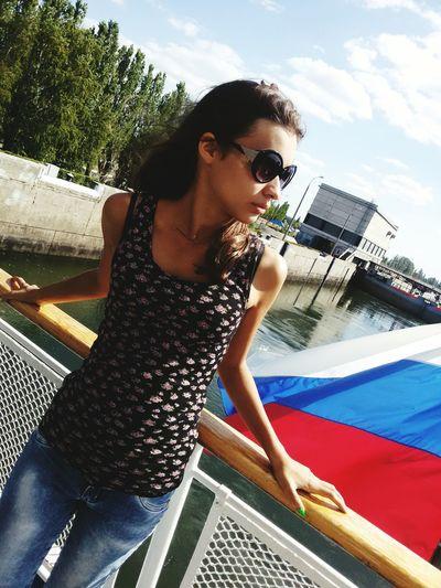 теплоход Река Волга River