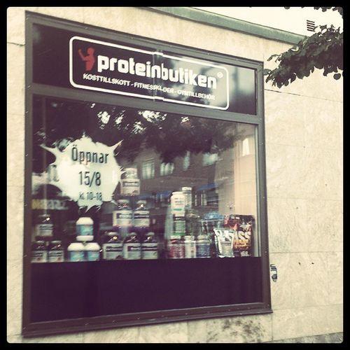 Äntligen! Proteinbutiken Ludvika