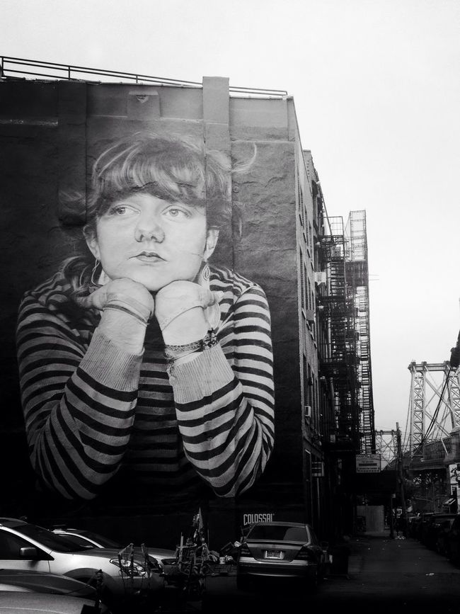 Part of the streetart I love. Streetphoto_bw Blackandwhite AMPt_community Streetphotography Streetart New York City