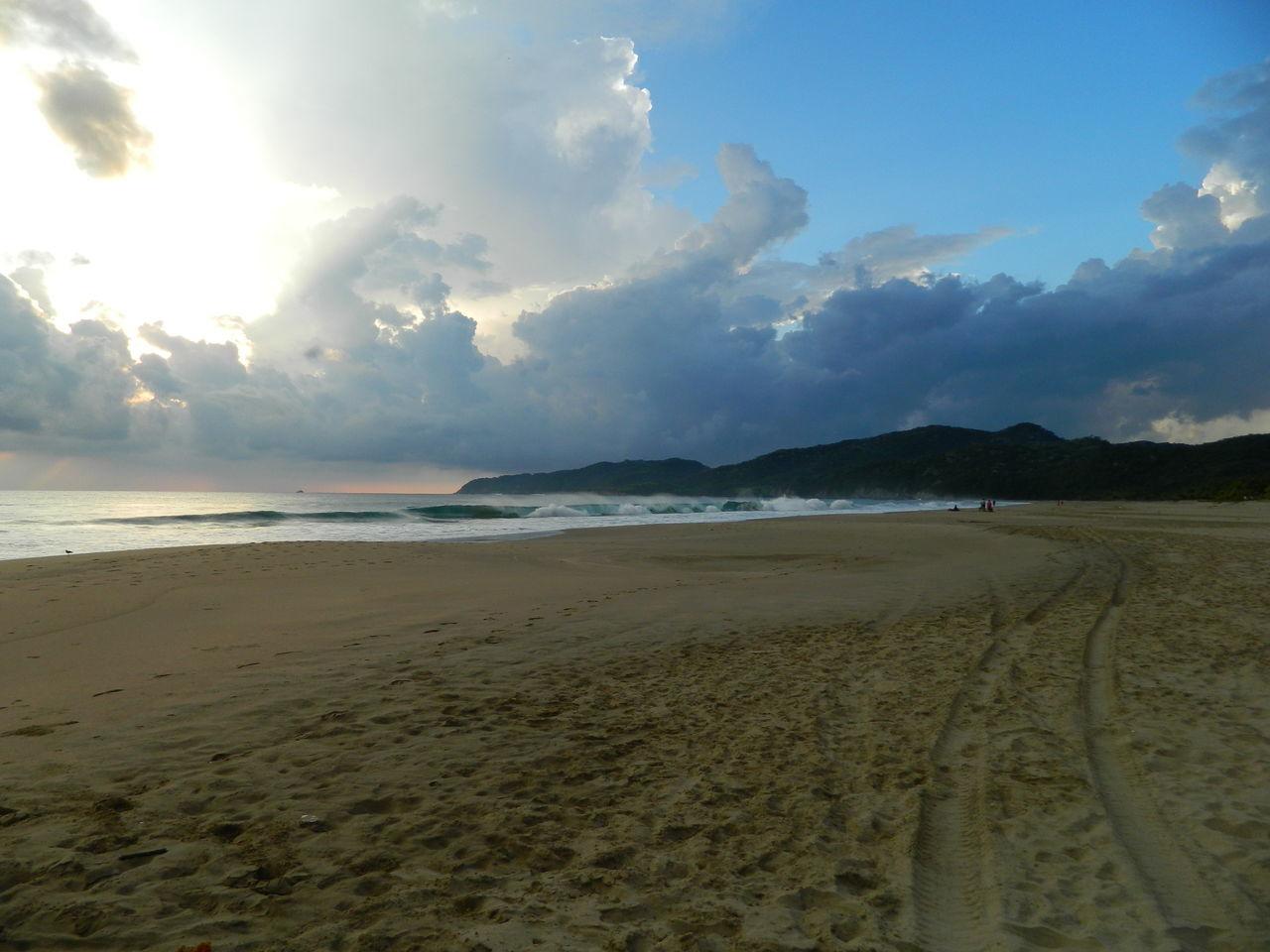 Playa Larga, Zihuatanejo Guerrero, Mexico Beach Beauty In Nature Cloud - Sky Landscape Nature Plant Playa Larga Sand Scenics Sea Sky The Great Outdoors - 2017 EyeEm Awards Tranquil Scene Tranquility Water Zihuatanejo EyeEmNewHere