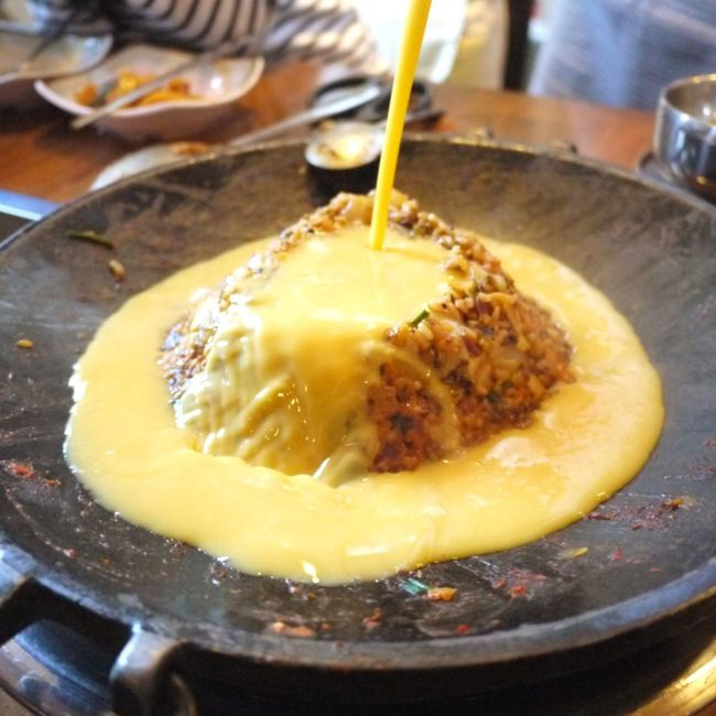Korean Food Udo JEJU ISLAND  Hallasan Fried Rice Delicious Traveling Yummy♡ 한라산볶음밥