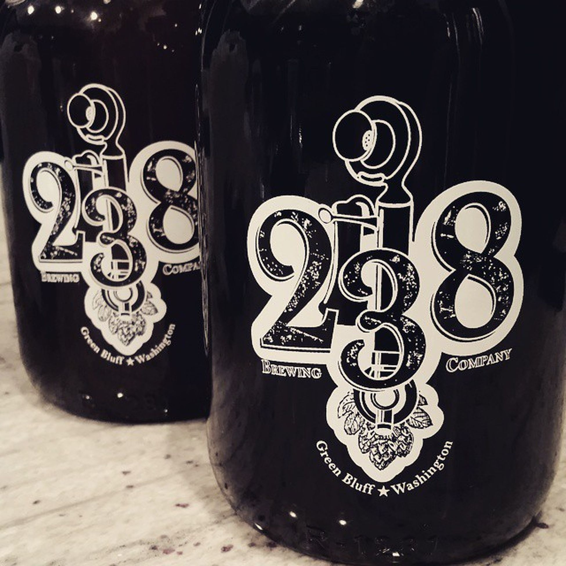 Great meeting with 238brewingcompany today. They make some amazing beer. Going to be huge. Check them out in Greenbluff one of the best up and coming small Craftbeer brewers