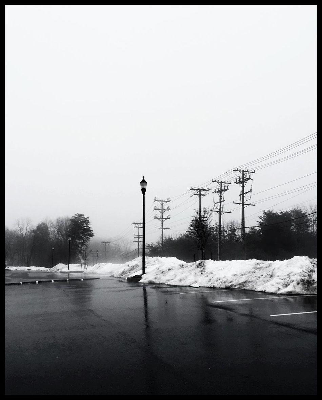 Wednesday afternoon fog. Aberdeen, MD Maryland Monochrome Blackandwhite Aberdeen MDinFocus Black & White Marylandphotographer HarfordCounty Snow ❄ Winter