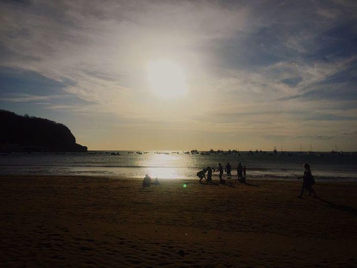 Sunset Beautiful Beachphotography