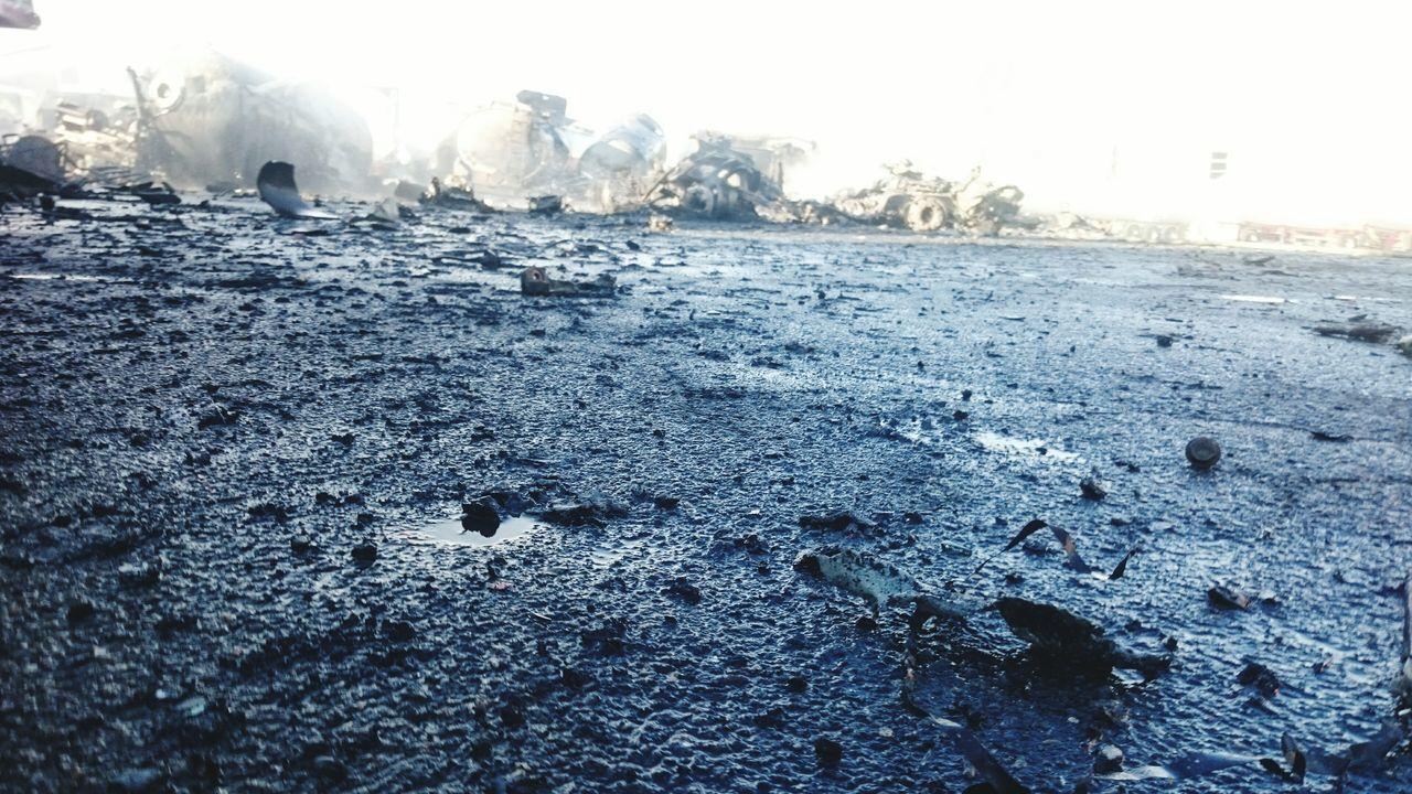 Fire Firefighter Pompiers Feu Feu De Camions Explosion Explosion Gaz Gas Tank Bassens Port De Bassens Bordeaux War