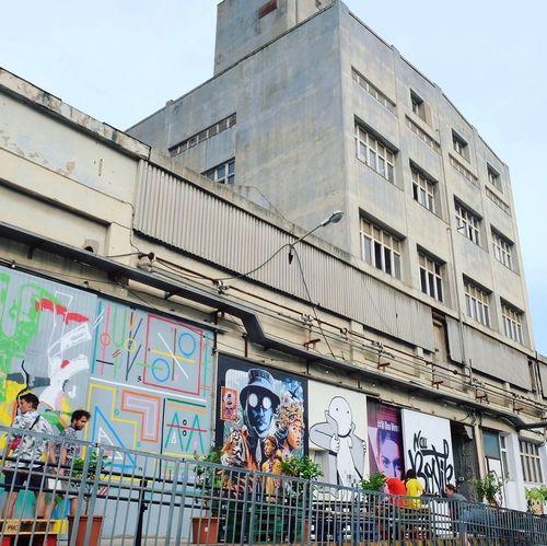 Graffiti Architecture Built Structure Building Exterior Text Street Art Day Outdoors City Nau Bostik Barcelona