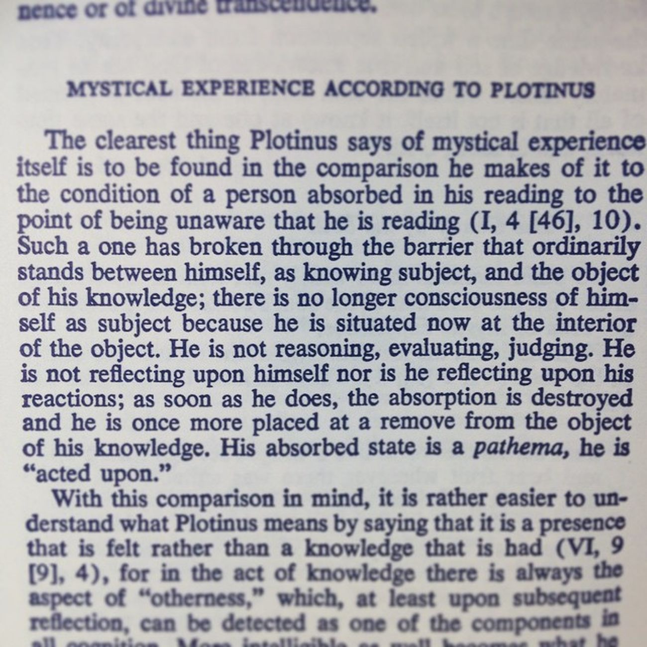 Beautiful Plotinus