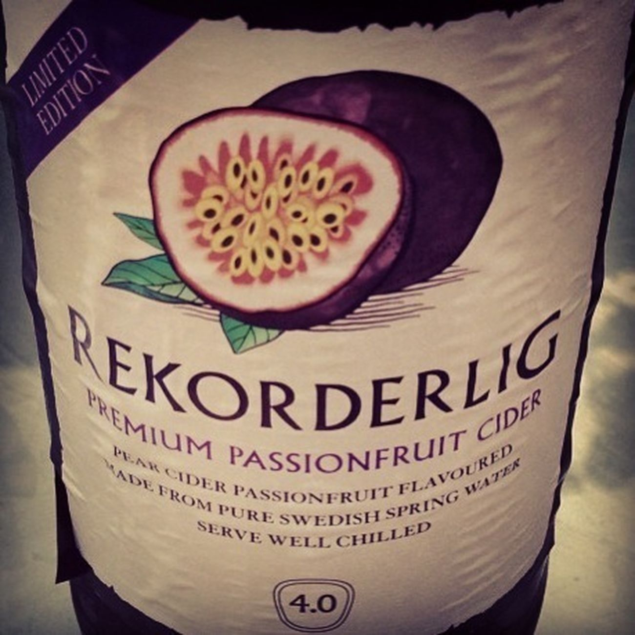 Love Cyder Rekorderlig Swedish
