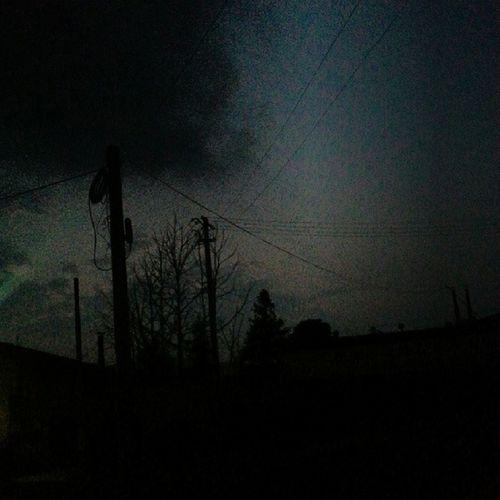 昨天晚上停电了耶T_T