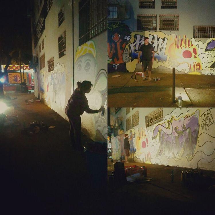 Street art in Brazil!! Grafit Artederua Campinas Barão Geraldo
