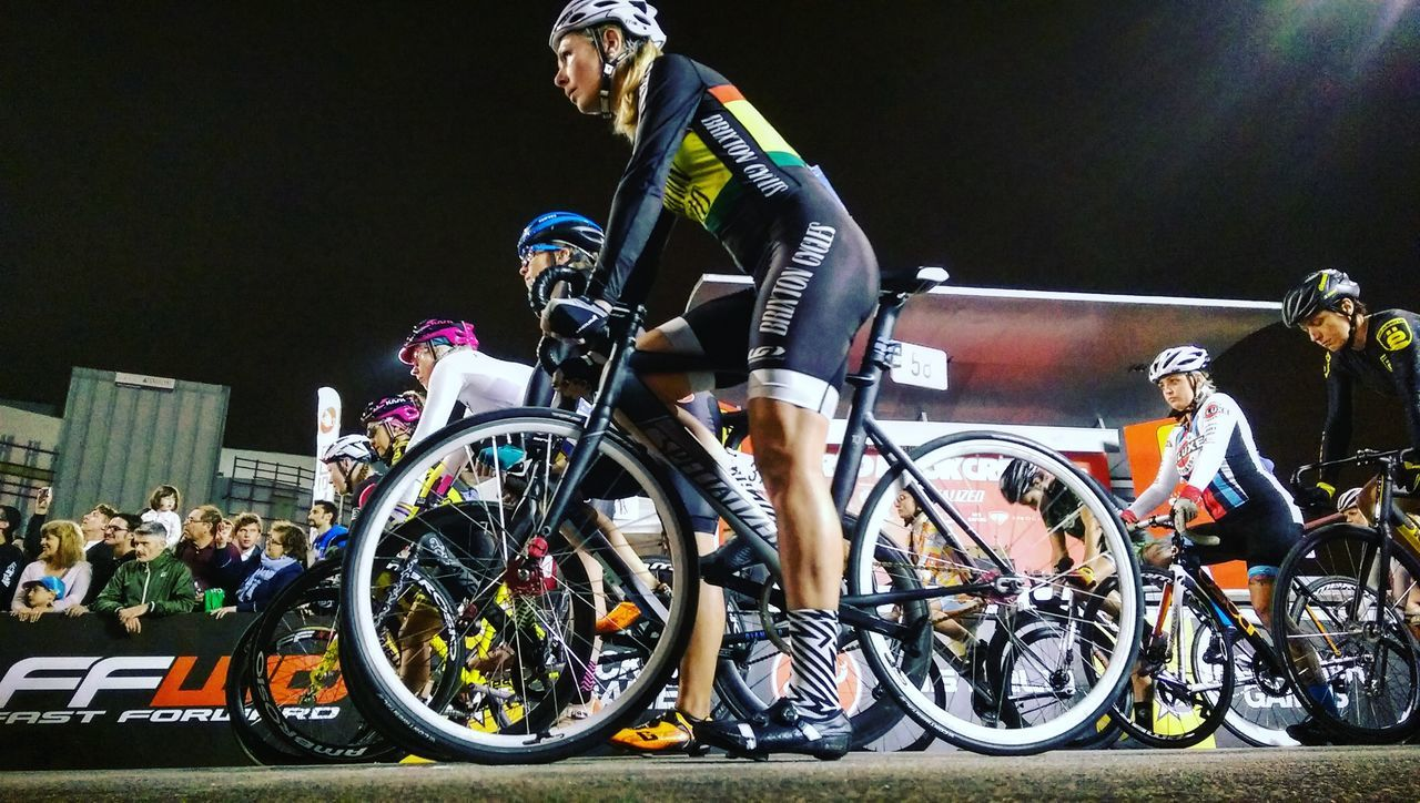 Bicycle Competition Competitive Sport Countdown Cycling Fixedgear Fixie Milan Milano Night People Professional Sport Racing Bicycle Red Hook Criterium Sport Sports Event  Start Women