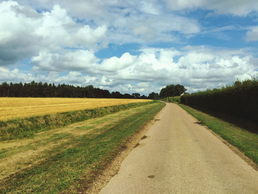 Landscape Campagne Road Hello World Taking Photos France Holiday Beautiful Nature Enjoying The View