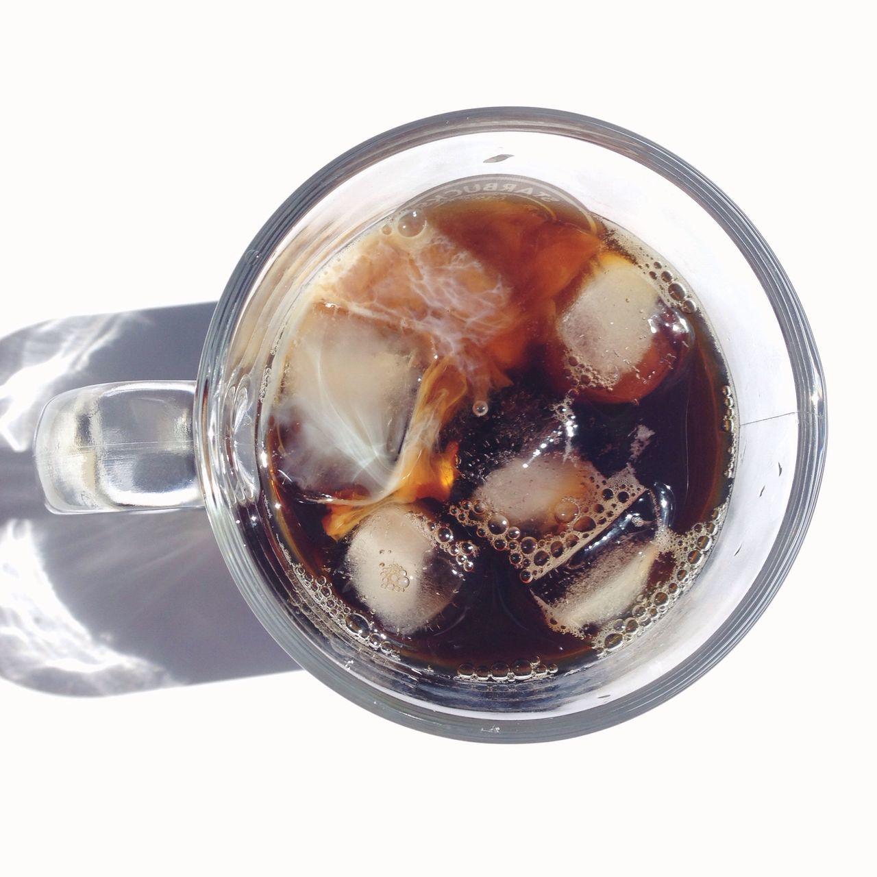 ☕️Ice coffee + hot days = ♡ Ice Coffee Delicious Enjoying The Sun The EyeEm Breakfast Club