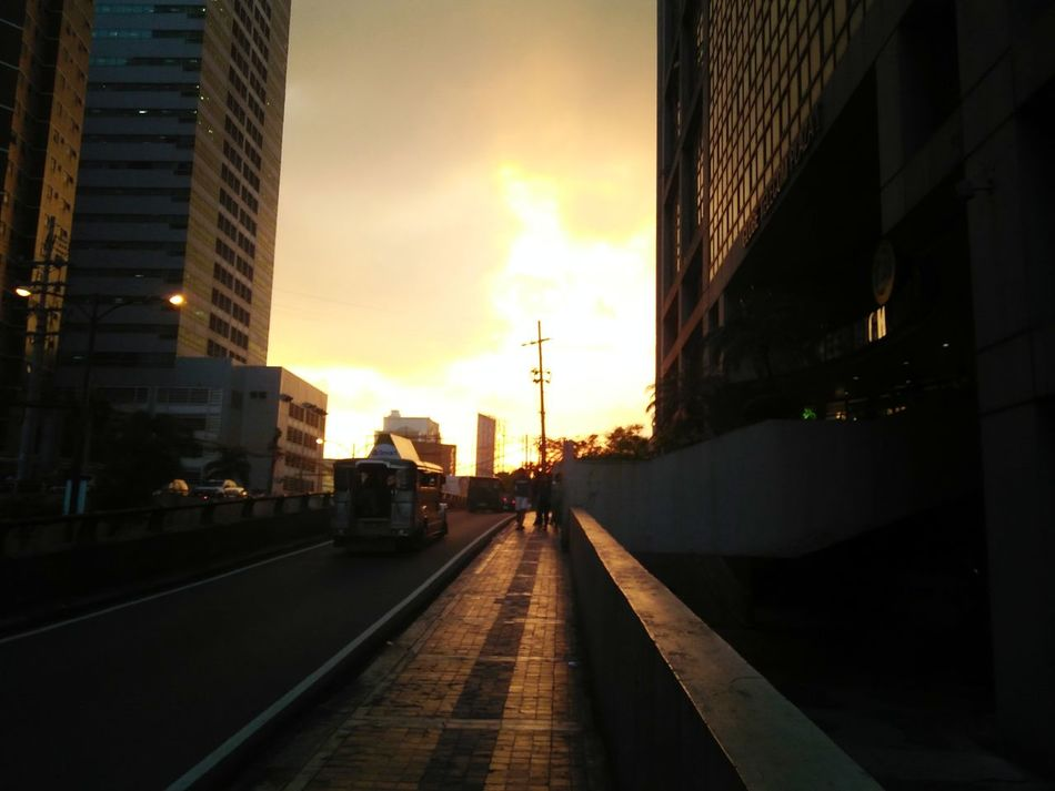 Street Photography ManilaStreetPhotography Sunsetphotography Manila Philippines Adapted To The City