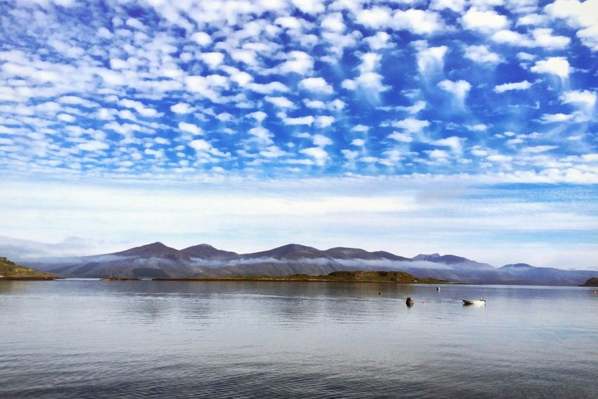 Looking towards the hills of Morvern from Port Appin Scotland Taking Photos Landscape Seascape Clouds And Sky Summer Views Edge Of The World Eye4photography  Check This Out IPhoneography The Great Outdoors - 2016 EyeEm Awards