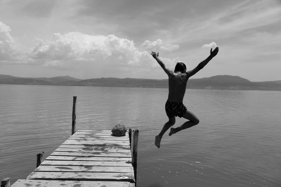 Beautiful stock photos of mexiko, full length, water, one person, outdoors