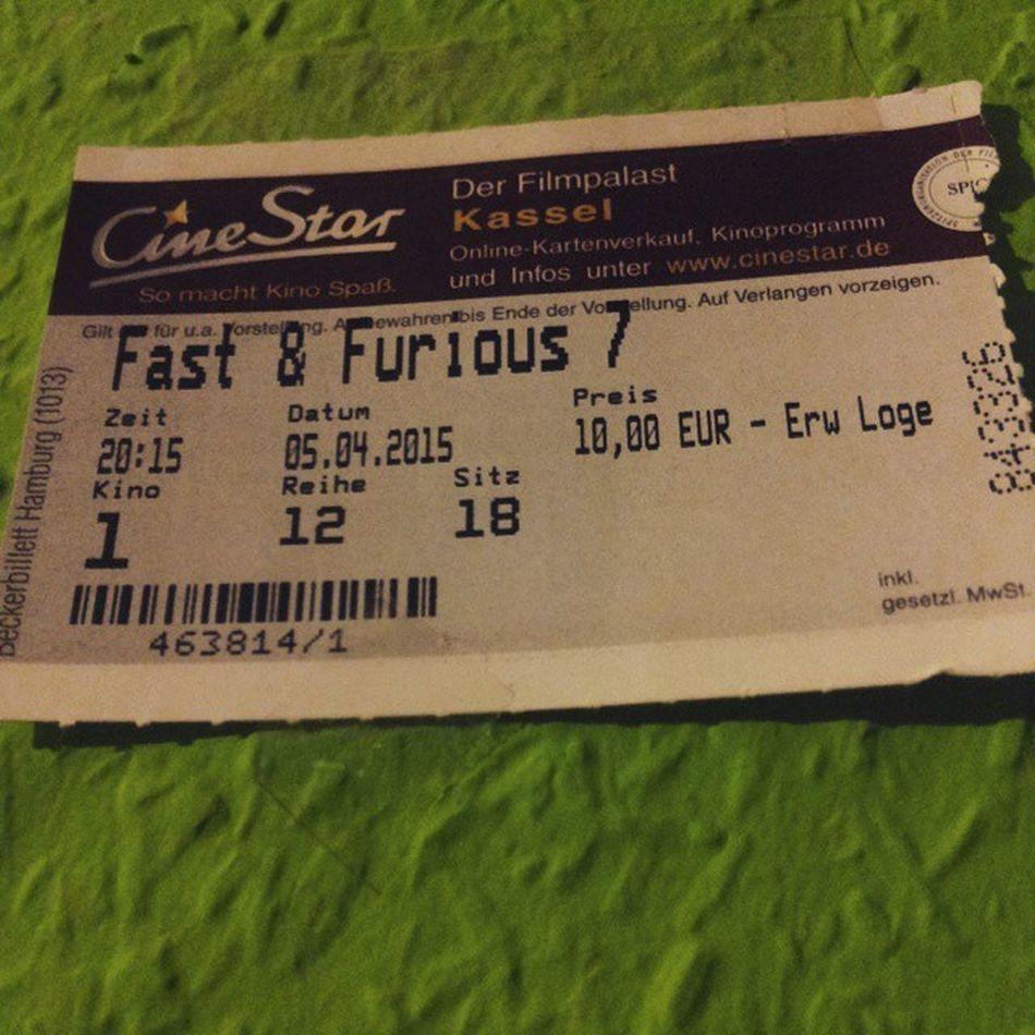 Fast And Furious 7 Cinestar Cassel Paul Walker Jason Statham Vin Diesel The Rock Lange Keinen So Guten Film Mehr Gesehen Leider Der Letzte Film mit Paul Walker :(